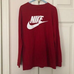 Nike Boys Long Sleeve Tee